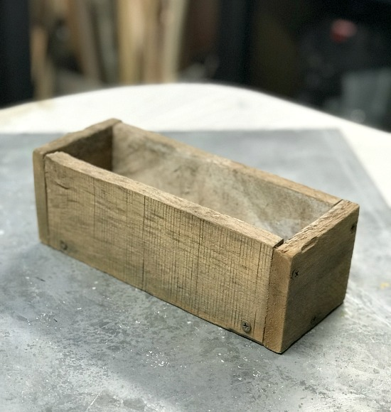 Farmhouse Bud Vase from pallet wood