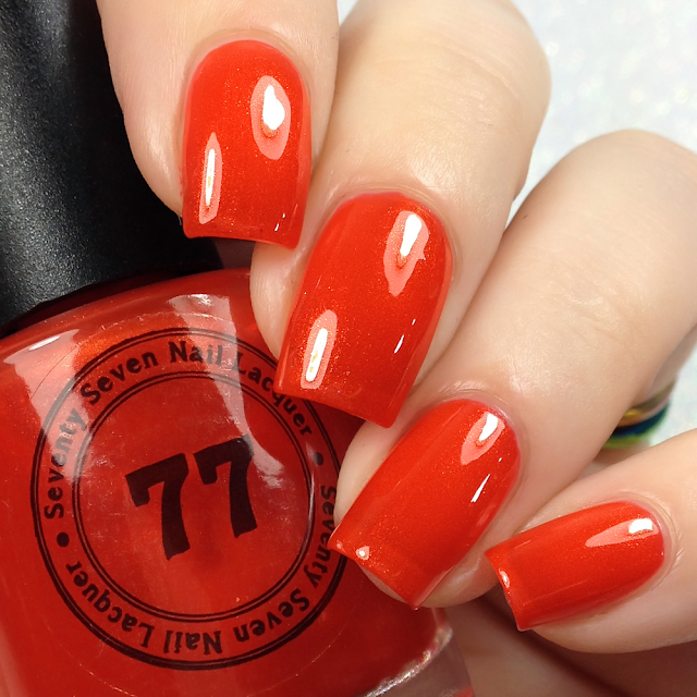 Seventy Seven Nail Lacquer-Cherry On Top 2.0