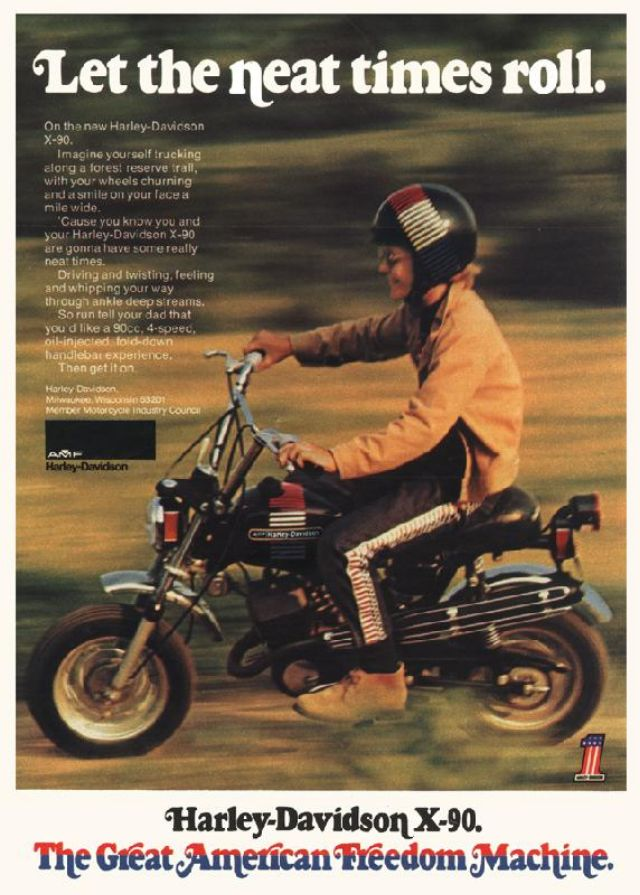 Freedom Harley Davidson >> 34 Wonderful Harley-Davidson Advertisements on Magazines ...