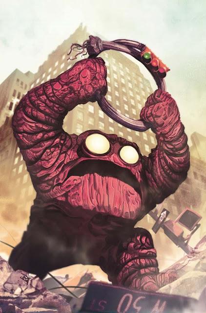 Orrgo monstruo de Jack Kirby