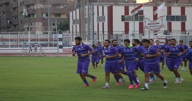 مران الزمالك  تأكد غياب ثنائي الفريق عن مباراة الاتحاد ونيبوشا يصحح أخطاء اللاعبين