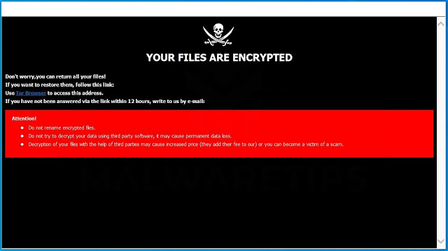 [De_cryption@tuta.io].Dec (Ransomware)