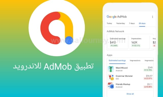 AdMob sign up, AdMob login, AdMob أرباح, اسعار اعلانات AdMob, Admob شرح