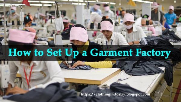 garment factory machinery