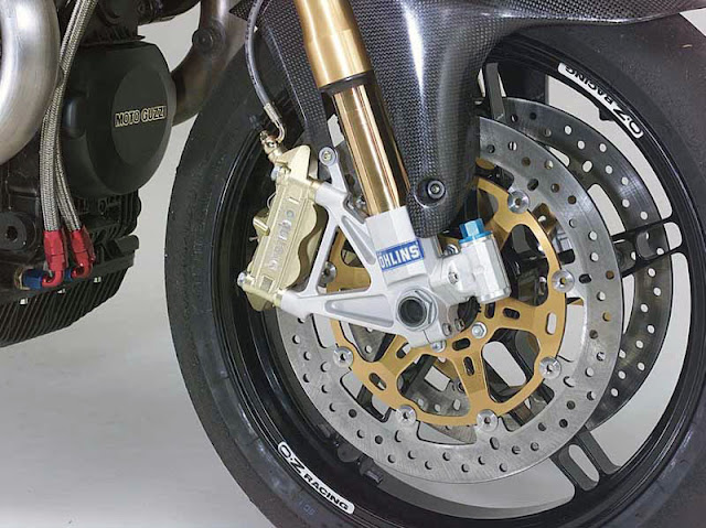 Moto Guzzi MGS-01 Corsa Motorcycle Front Ohlins Brembo