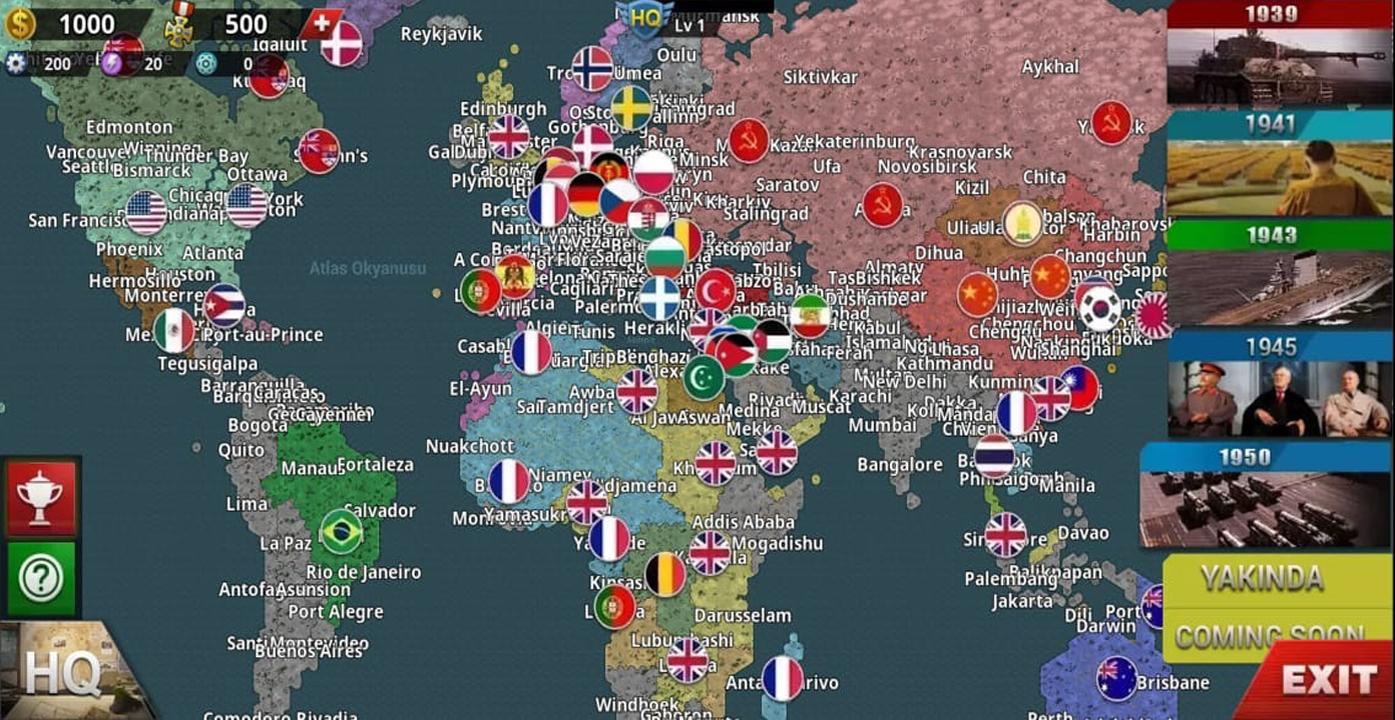تحميل لعبة world conqueror 4 خريطة كاملة مهكرة الاصدار 1.1.1