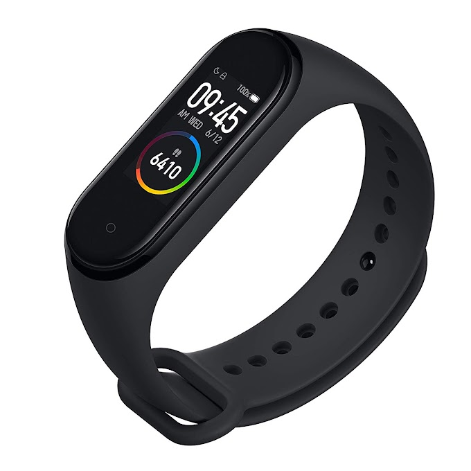 Mi Smart Band 4- India's No.1 Fitness Band, Up-to 20 Days Battery Life,
