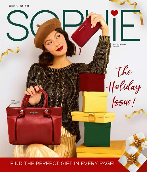 catalog, catalogue, sophie, sophie paris, sophie martin, fashion, holiday gift, perfect gift, the holiday issue, sistersel, online shopping, bags, bags and purse, tas sophie paris, sale, on sale