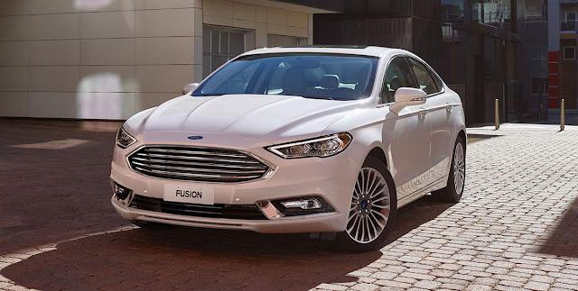 Novo Ford Fusion 2017 - Hybrid
