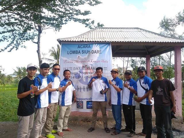 HIPO( himpunan pengusaha online) Gelar Lomba Siuh Dare Di Desa Jango