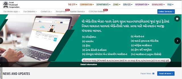 Surat Municipal Corporation Recruitment - 800 vacancies for Apprentice Posts