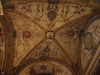 Voyage à Florence, grotesques, Toscane, Florence, Palazzo Vecchio, fresques,