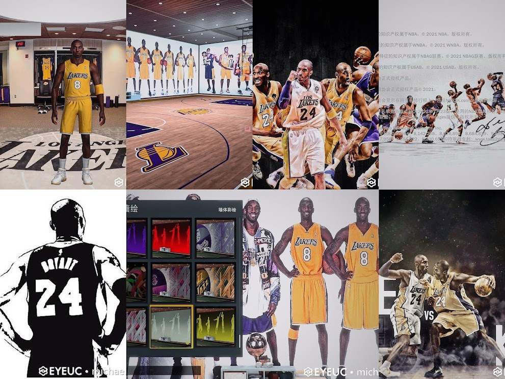 NBA 2K22 Kobe Bryant Presentation Mod Pack by MichaelJorusn
