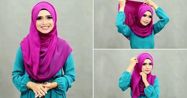 Tips Hijab Pashmina Praktis Untuk Ke Kantor Dan Santai