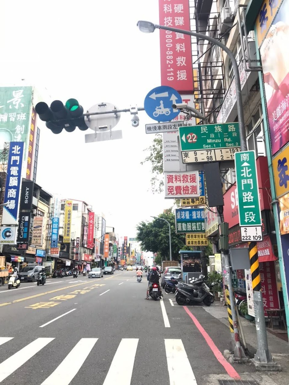 台南交通科技執法18罰3000件|違規停車佔最大宗