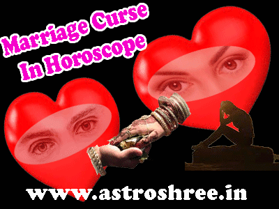 about marriage curse reasons and remedies by astrologer.