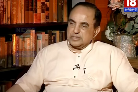 Interview with Subramanian Swamy | Vellum Sol