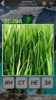 растет высокая трава зеленого цвета 1 уровень 600 забавных картинок