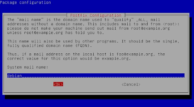 postfix system mail name
