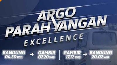 KA Argo Parahyangan Excellence