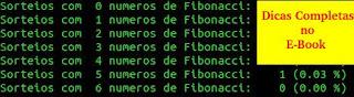 Sequência de Fibonacci para acertar na Dupla Sena
