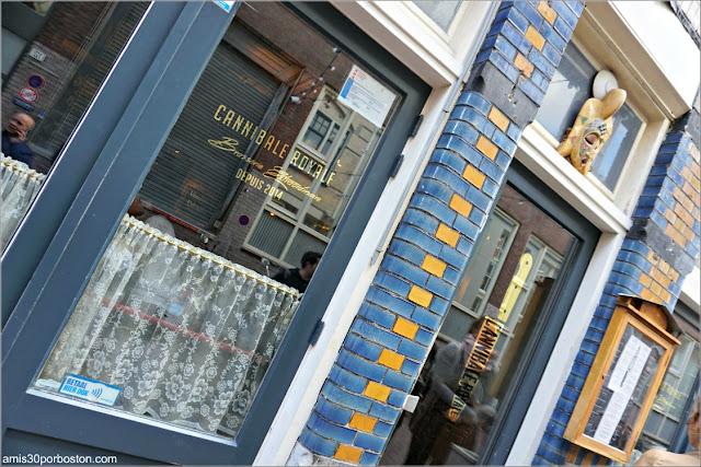 Hamburguesería Cannibale Royale en Amsterdam
