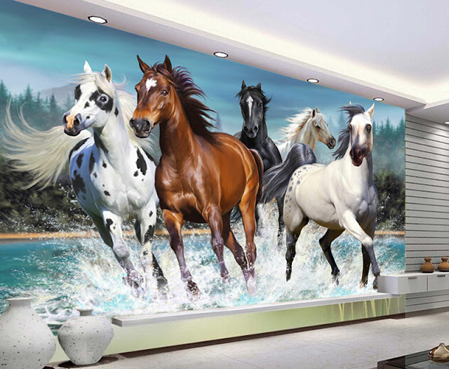Lasten Tapetti Hevonen