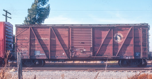 """The Jack Burgess Files"" no. 4: Great Northern single sheathed box car GN 31181"