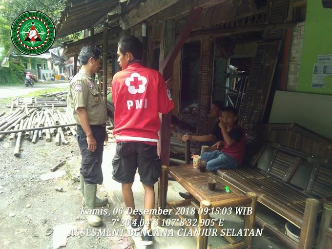 Yayasan Relawan PB Lakukan Assesment Bencana Cianjur Selatan