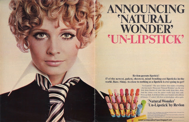 vintage 1960s make-up  advert