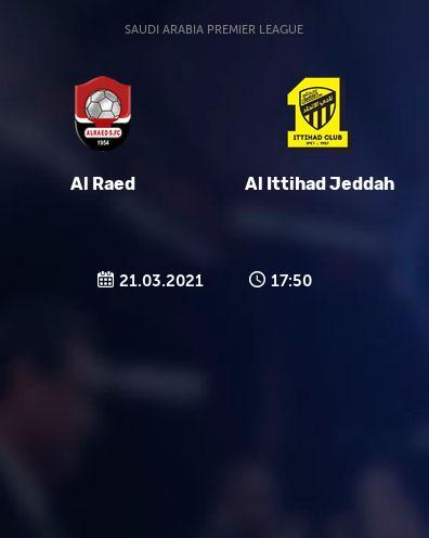 بث مباشر مباراة الاتحاد السعودي والرائد
