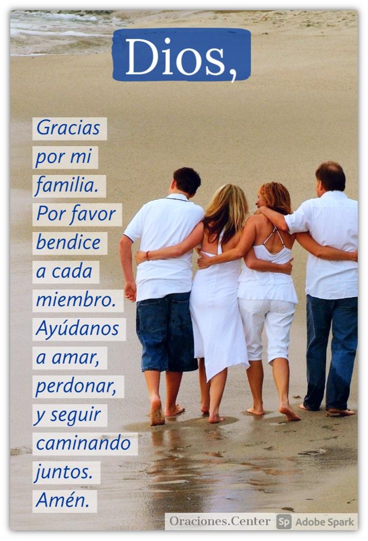 Oración para la Familia Unida