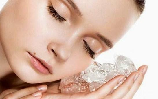 Manfaat Luar Biasa Es Batu Untuk Kecantikan