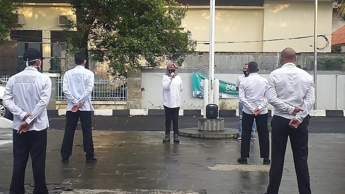 Anggota Samsat Depok Diminta Waspadai Peningkatan Penyebaran Covid-19