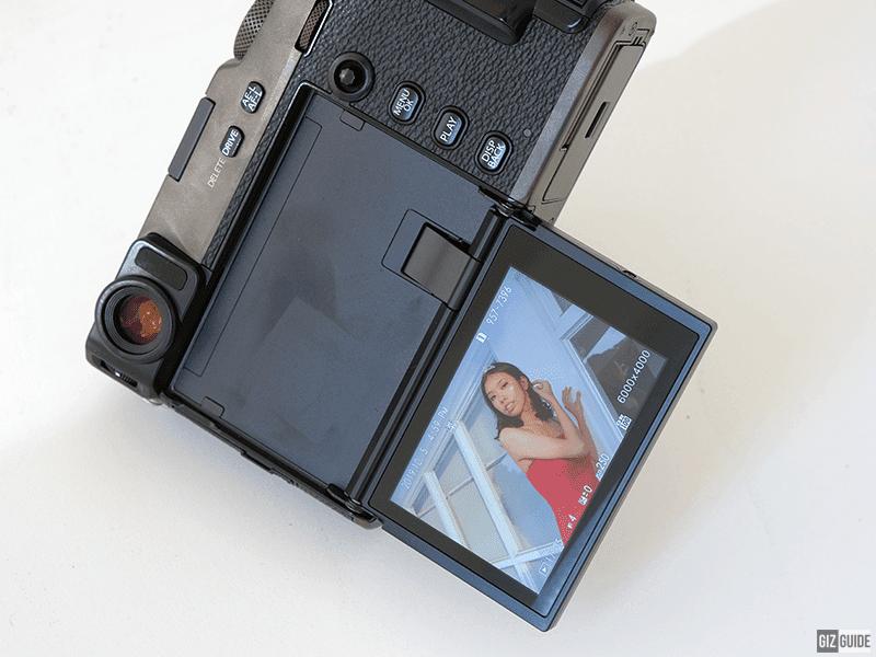 Fujifilm X-Pro 3's 180-degree tilting touch screen LCD