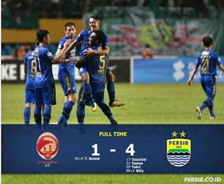 Video Gol Sriwijaya FC vs Persib Bandung 1-4
