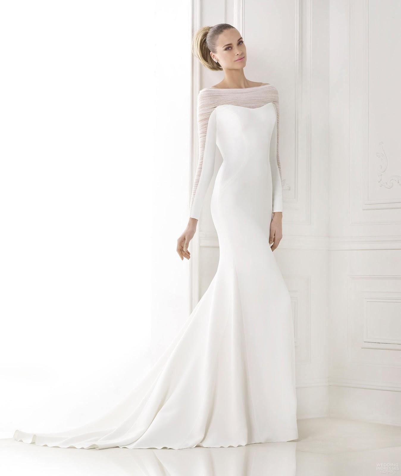 Wedding Dresses Plus Size Long Sleeve
