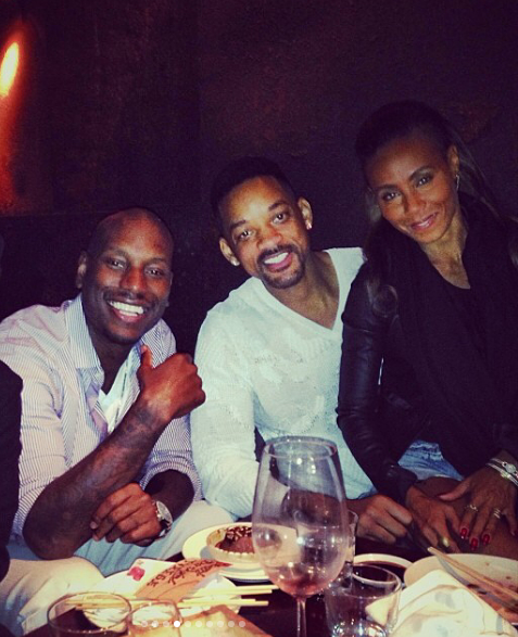 Tyrese reveals Will Smith and Jada Pinkett just gave him $5million