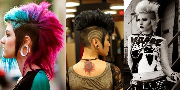 Punk  Rock hairstyles  The HairCut Web
