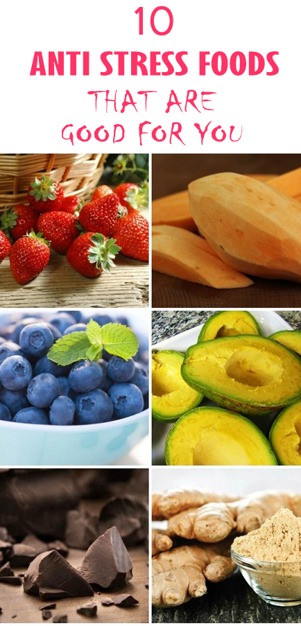 10 Foods That Relieve Stress
