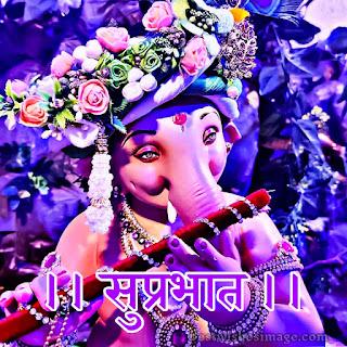 good morning ganesh bhagwan ka photo images