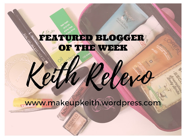 Featured Blogger Of The Week: Keith Relevo