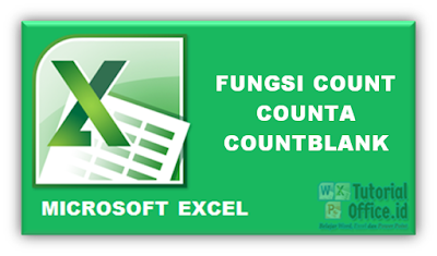 Fungsi Count CountA Countblank Excel