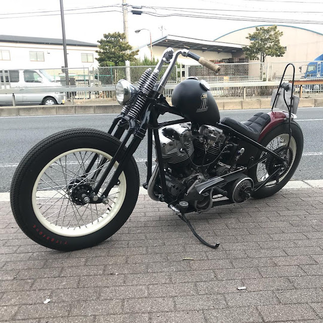 Harley Davidson Shovelhead 1968 By Hot Chop Speed Shop Hell Kustom