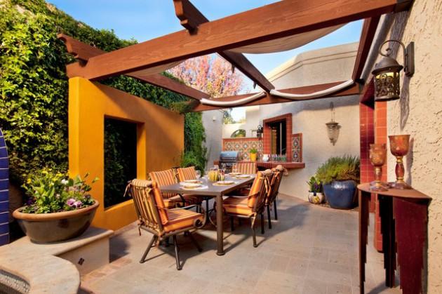 desain teras terbuka pada rumah minimalis