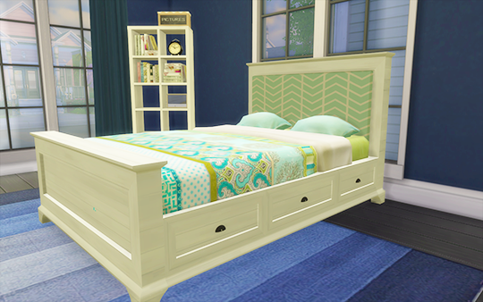 My Sims 4 Blog Pottery Barn Style Bed Frame And Fabric