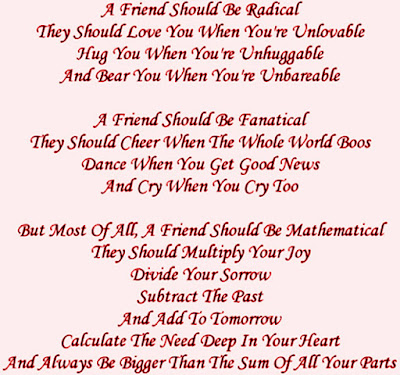 Friendship Day Poem