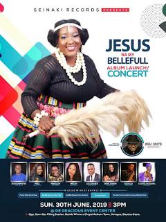 [ EVENT ] SEINAKI RECORDS PRESENTS - JESUS NA MY BELLE  FULL ALBUM LUNCH / CONCERT BY (Ebiere inedidie )