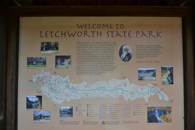 Letchworth State Park Signage