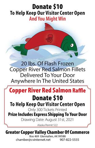 Copper River Salmon Raffle